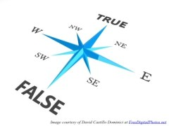 True False Compass In Blue w credit