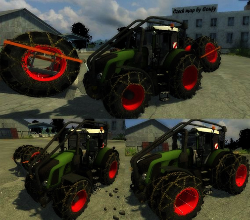 Fendt Vario 924 Forest Edition