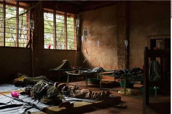 Red Cross cholera facility