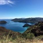 Looking back down on Playa El Burro