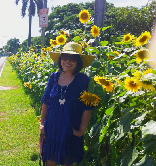 sunflowers in UP Campus