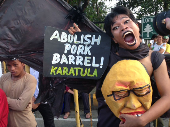 abolish pork barrel