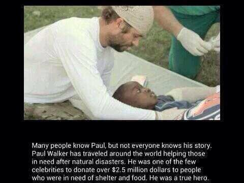 paul walker ROWW