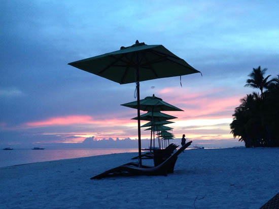sunset in south palms resort 4