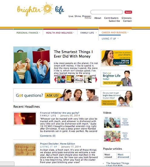 brighter life website