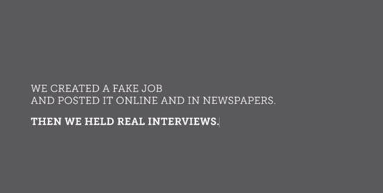 real interviews