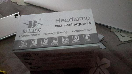 headlamp rechargeable