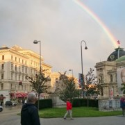 rainbow in vienna