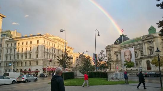 rainbow in vienna