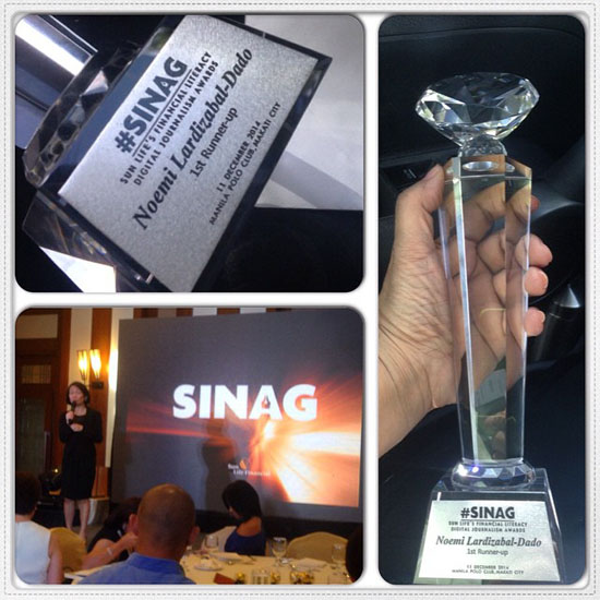 sinag awards for financial literacy
