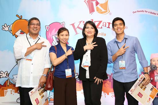 """At KidZania Manila, kids can be ever-reliable pharmacists at the Pharmacy sponsored by Mercury Drug. """"Through this play and learn concept, they can better appreciate the pharmacists' role in keeping them healthy,"""" said Vivien Que-Azcona, the drugstore company's president. Pictured here are representatives from the Mercury Drug team (from left): Louie Calalang, Nikki Angulo, Vice President for Purchasing Cora Lim and Lyle Abadilla."""