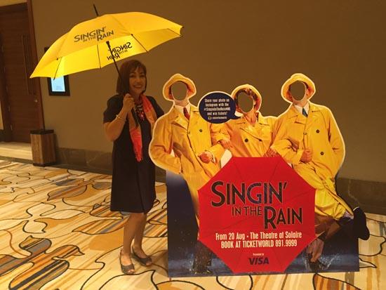 singing in the rain play