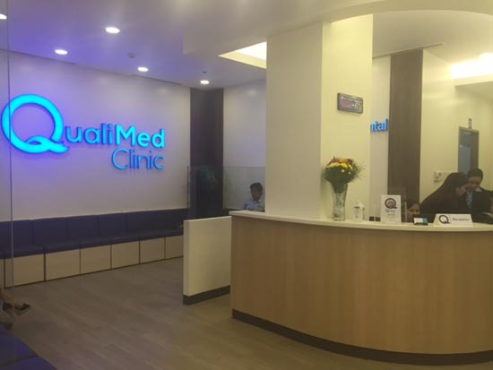 qualimed clinic in ayala UP Town center