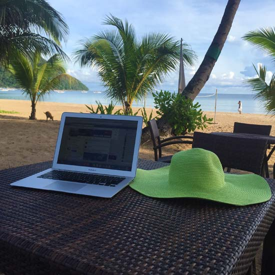 mobile office in palawan
