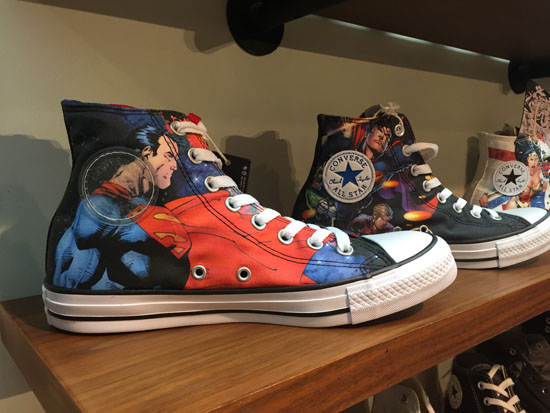 converse superman DC collection