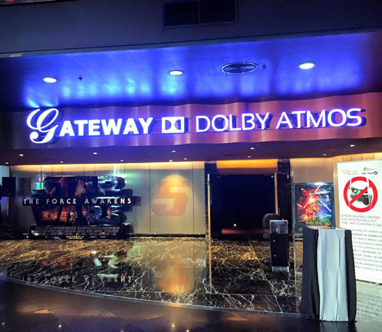 gateway dolby atmos theater