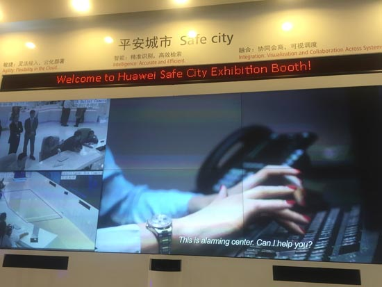Huawei safe city solution report
