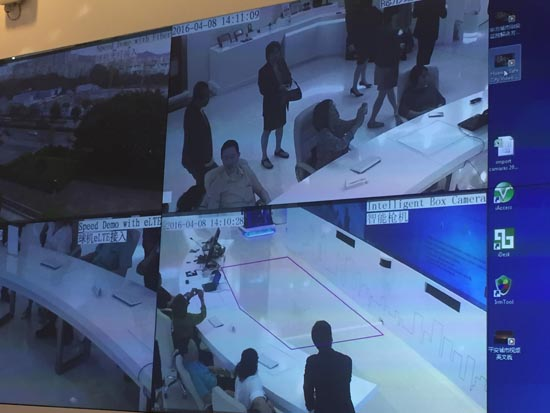 command center at Huawei
