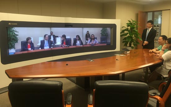 huawei video conferencing 2