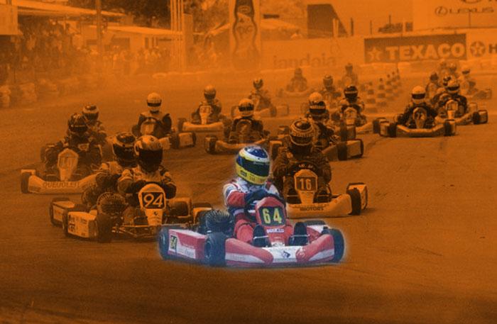 Go-Karting start poster