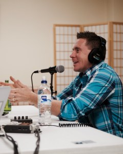 Guest Jason Evert on the podcast