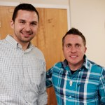 Host Lance Osborne with guest Jason Evert