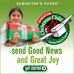 Operation Christmas Child from Samaritan's Purse is one practical way to get your whole family helping the needy.