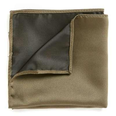 Topman Khaki Pocket Square