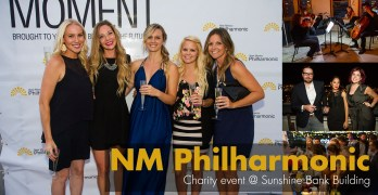 NM Philharmonic Charity Event at The Sunshine Bank Building