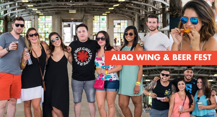 Albq. Wing and Beerfest at The Railyards