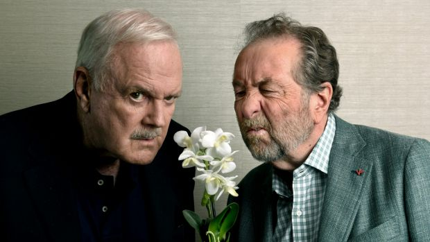 CLEESE AND IDLE AT THE KIVA