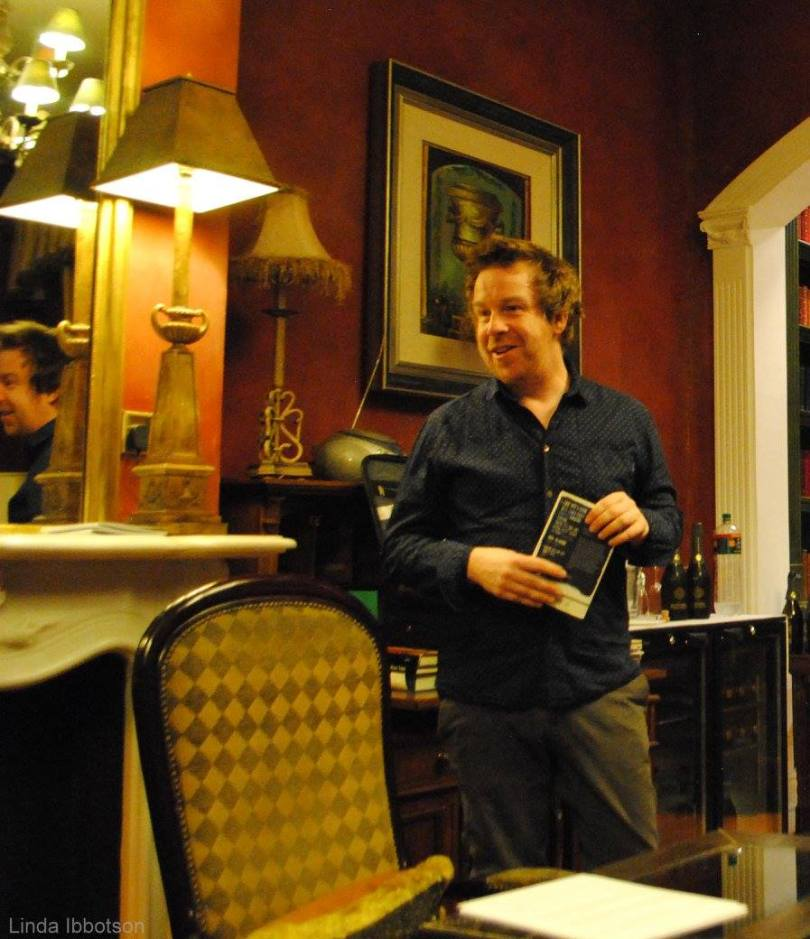 Irish author, Kevin Barry
