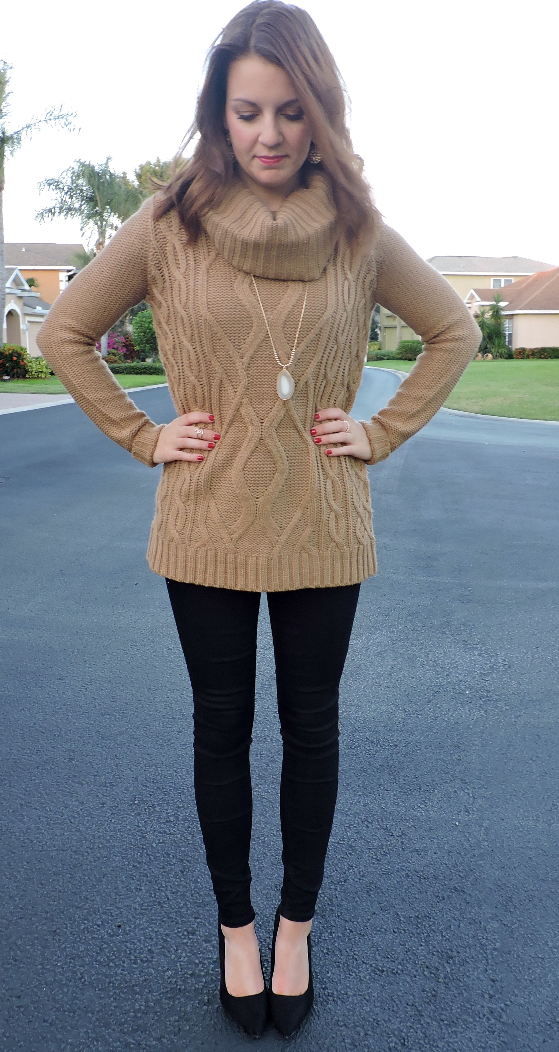 Cowl Neck Sweater | Absolutely Annie