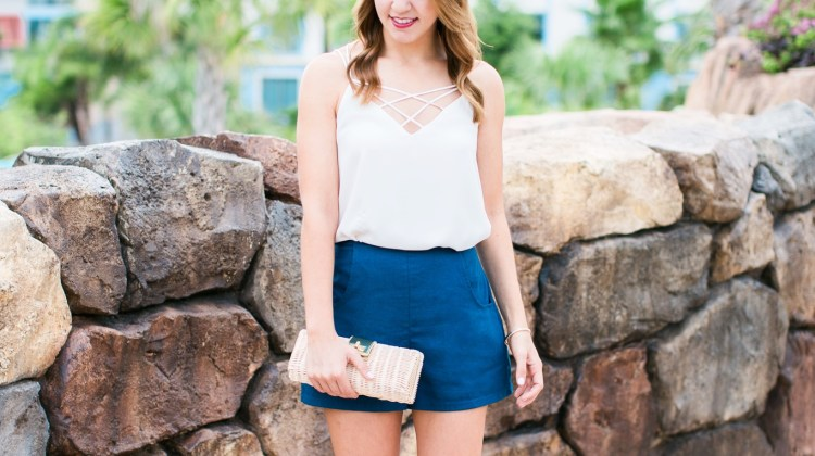 High Waisted Shorts & the Perfect Summer Tank