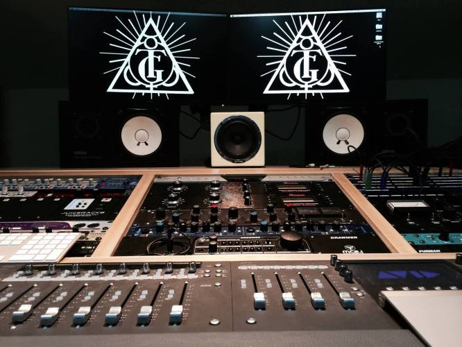 Terminal Gods Studio Recording Process Picture