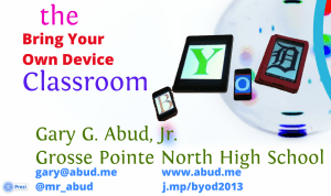 Getting Started With BYOD In the Classroom