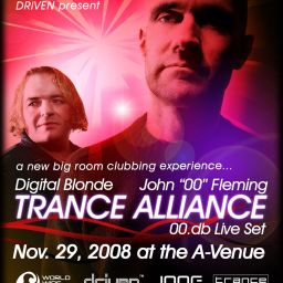 Contest: 10 TICKETS for Trance Alliance with DJ Fleming and Digital Blonde
