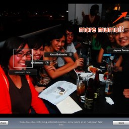 iPhoto '09 recognizes faces from the beyond the grave