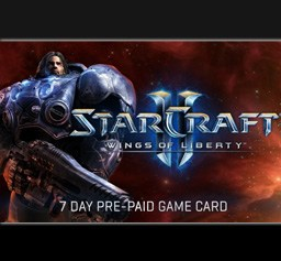 Starcraft II prepaid cards are now available