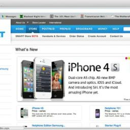 Smart Online Store: iPhone4s delivered to your home