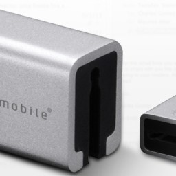 AluCube Mini — a block of elegant aluminum to hold your cables sell for PHP 795 a pack