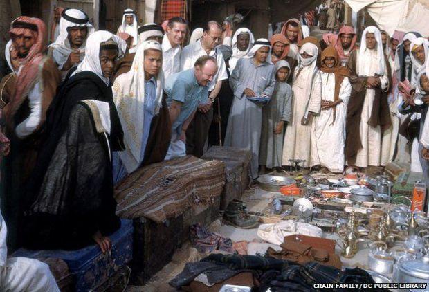 زيارة فريق طبي أمريكي للملك عبد العزيز11