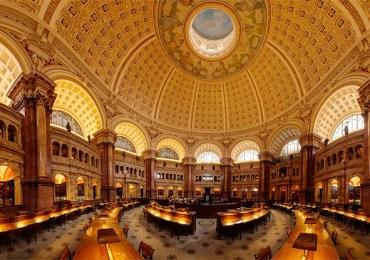 مكتبة ضخمة للمخطوطات والكتب والموسيقى والأفلام والتاريخ ككل