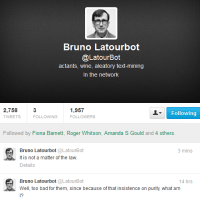 """""""Bruno Latourbot"""" by Anonymous"""