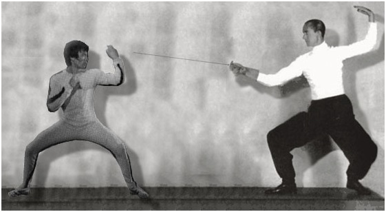 bruce lee the world�s most famous fencer academy of