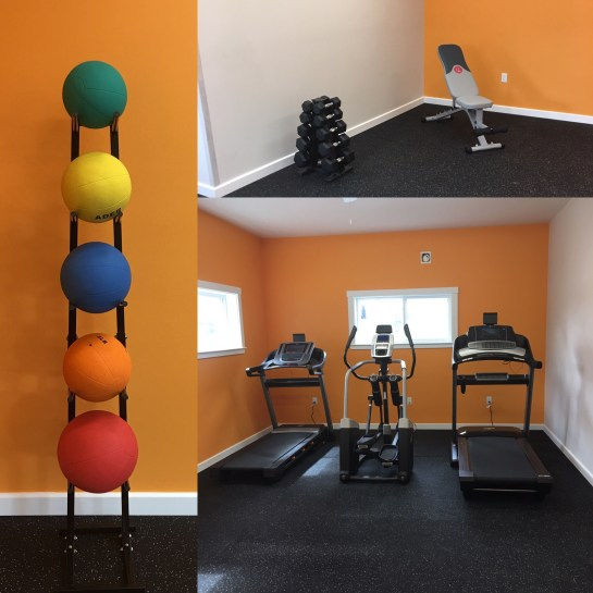 Fitness Room NEW in 2017