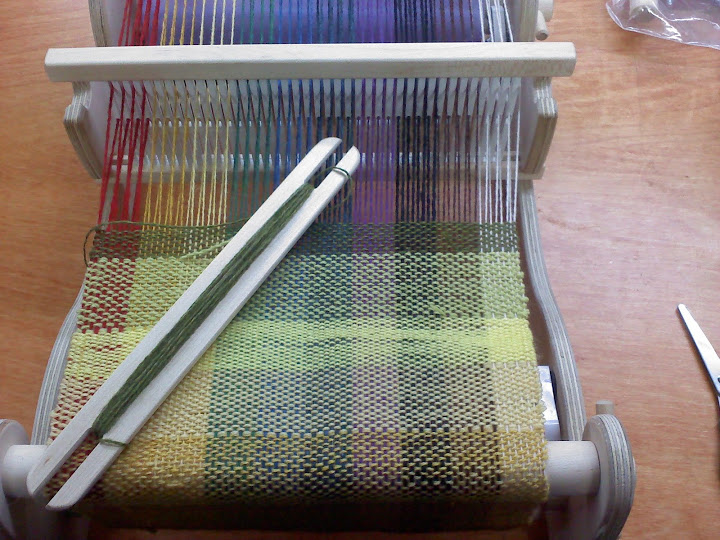 W Is For… Weaving!