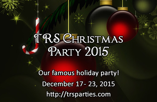 TRS Christmas Party with $100 USD Amazon Giveaway and Other Prizes!