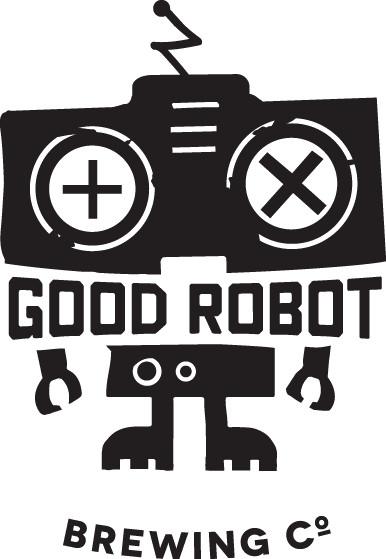 Good Robot Logo - Black Text