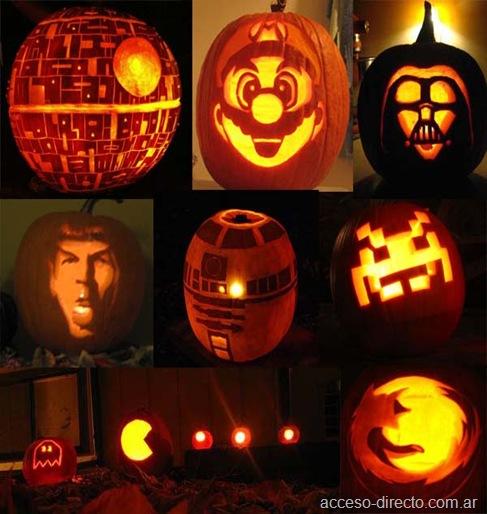 Calabazas Geek Pumpkins